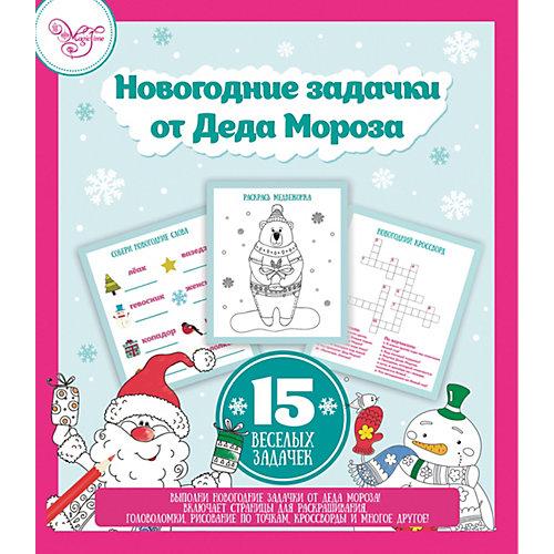 """Сборник развивающих игр Fenix-present """"Новогодние задачки от деда Мороза"""""""