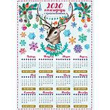 """Календарь с предсказаниями Fenix-present """"Лесной олень"""""""