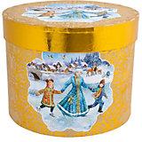"""Подарочная коробка Fenix-present """"Зимние забавы"""""""