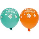 """Воздушные шары Belbal """"Добро пожаловать"""", пастель, шелкография, 25 шт"""