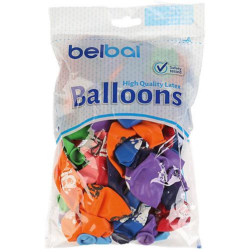 """Воздушные шары Belbal """"День рождения: Мишка с тортом"""", с рисунком, 50 шт от Belbal"""