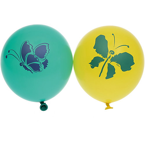 """Воздушные шары Belbal """"Бабочки"""", с рисунком, 50 шт от Belbal"""