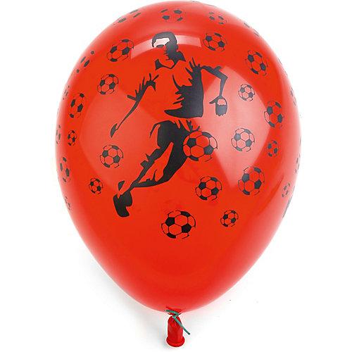 """Воздушные шары Belbal """"Футболист и мячи"""", пастель, шелкография, 50 шт от Belbal"""
