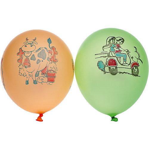 """Воздушные шары Gemar """"Неон ассорти"""", с рисунком, 100 шт от Gemar"""
