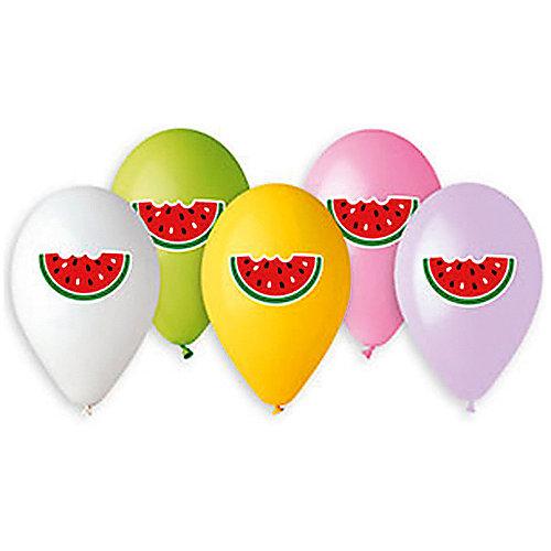 """Воздушные шары Belbal """"Арбуз"""", с рисунком, 50 шт от Belbal"""