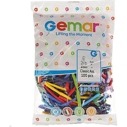 """Воздушные шары для моделирования Gemar """"260-2 ассорти"""", 100 шт от Gemar"""