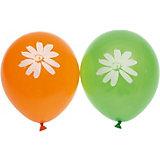 """Воздушные шары Belbal """"Ромашки"""", с рисунком, 50 шт"""