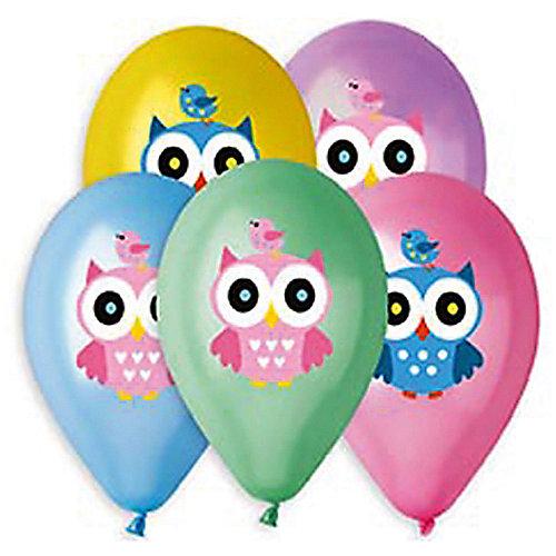 """Воздушные шары Belbal """"Совушка"""", металлик, с рисунком, 50 шт от Belbal"""