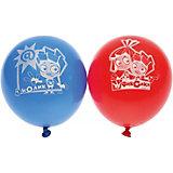 """Воздушные шары Belbal """"Фиксики"""", с рисунком, 50 шт"""