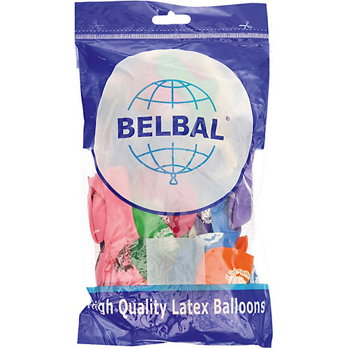 """Воздушные шары Belbal """"День рождения: Простоквашино"""", с рисунком, 50 шт от Belbal"""