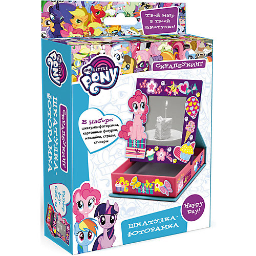 "Скрапбукинг Origami My little pony ""Шкатулка-фоторамка"" от Origami"