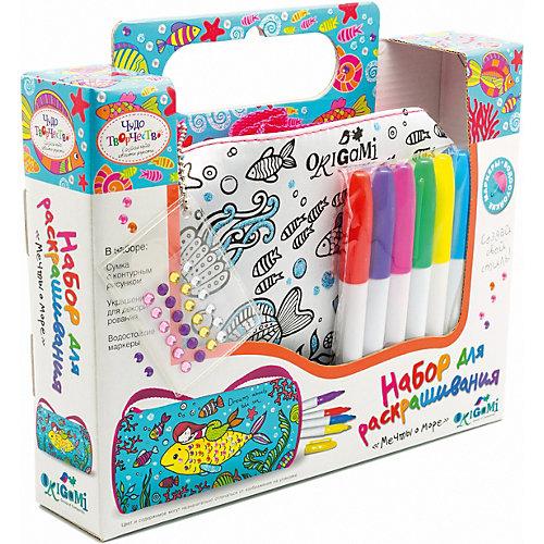 """Мини-сумка для раскрашивания Origami Чудо-Творчество """"Мечты о море"""" от Origami"""