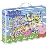 """Игровой набор Origami """"Свинка Пеппа: 4 в 1"""""""