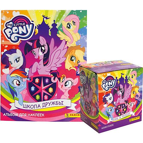 Альбом My Little Pony 2019+Бокс с наклейками (50 пакетиков в боксе) от Panini