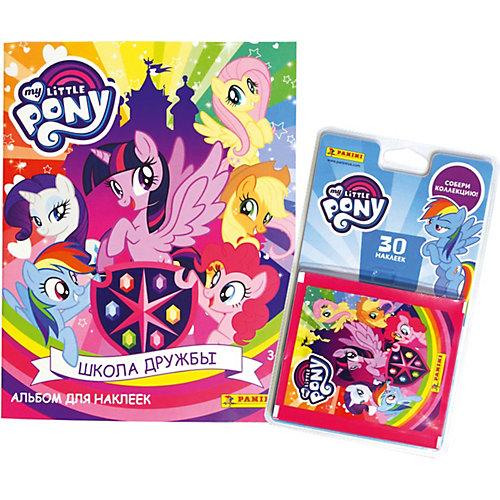 Альбом My Little Pony 2019+Блистер (набор из 6 пакетиков наклеек) от Panini