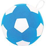 """Игрушка Мякиши """"Футбольный мяч"""", бело-синий"""