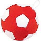 """Игрушка Мякиши """"Футбольный мяч"""", бело-красный"""