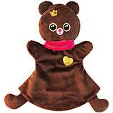 "Кукла на руку Мякиши ""Мишка"", коричневый"