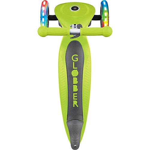 Трехколесный самокат Globber Primo Foldable Lights от Globber