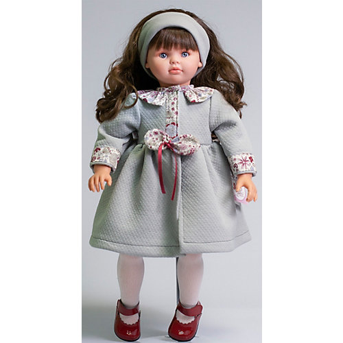 Кукла Asi Пепа в сером платье, 57 см от Asi