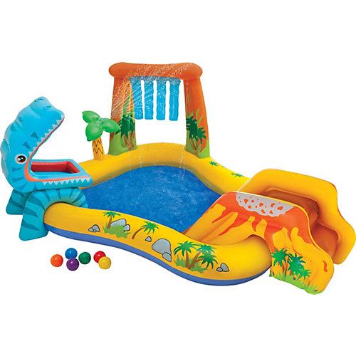 """Надувной игровой центр-бассейн Intex """"Динозавр"""", 57444NP от Intex"""