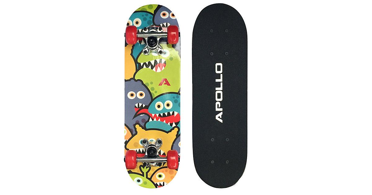 """Kinderskateboard Monsterskate 20"""" mehrfarbig"""