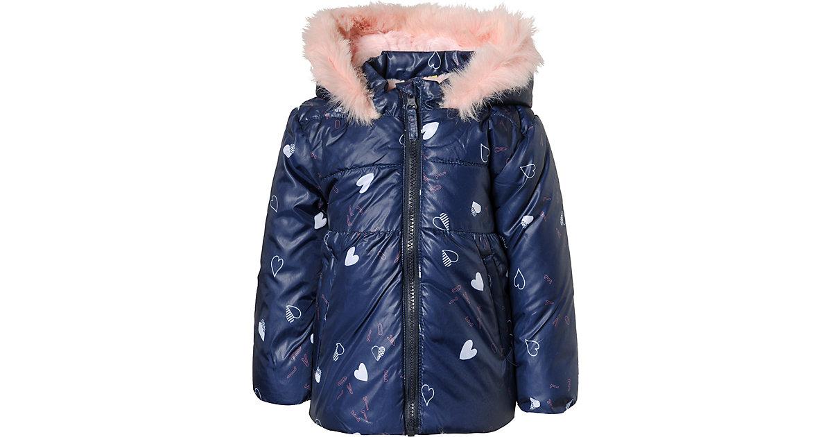 Baby Winterjacke  dunkelblau Gr. 74 Mädchen Baby