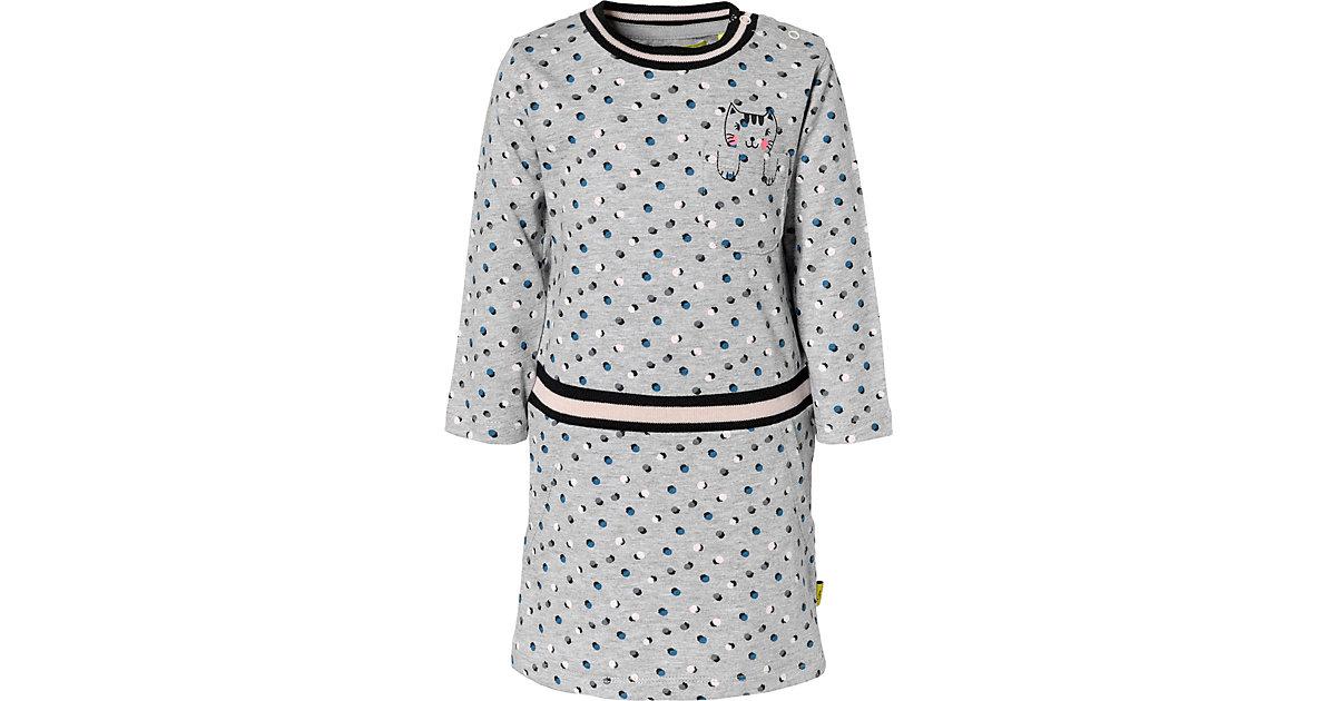 Baby Jerseykleid grau Gr. 68 Mädchen Baby