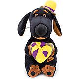 Мягкая игрушка Budi Basa Собака Ваксон с сердцем, 25 см