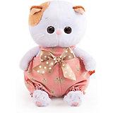 Мягкая игрушка Budi Basa Кошечка Ли-Ли Baby в песочнице с бантом, 20 см