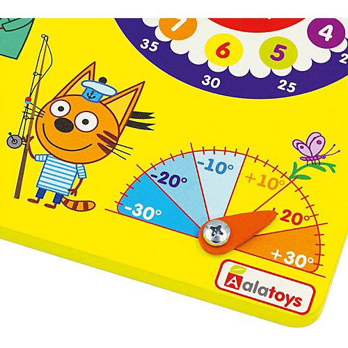 "Календарь природы Alatoys ""Три кота"", желтый от Alatoys"