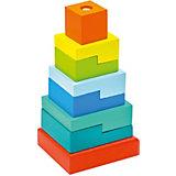"""Пирамидка Alatoys """"Ступеньки"""""""
