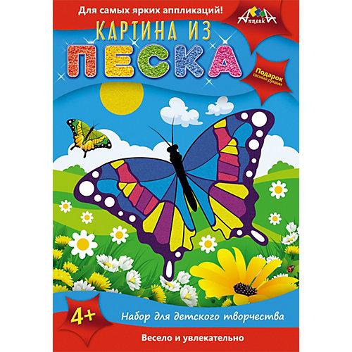 "Картина из песка Апплика ""Бабочка"" от АппликА"