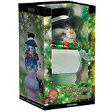 Светильник со светодиодами GLOS Новогодняя метель, Снеговик