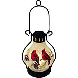 Фонарь декоративный B&H Снегири на ветке