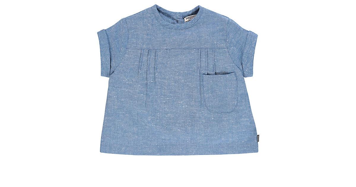 Kinder Kleid blau Gr. 80 Mädchen Baby