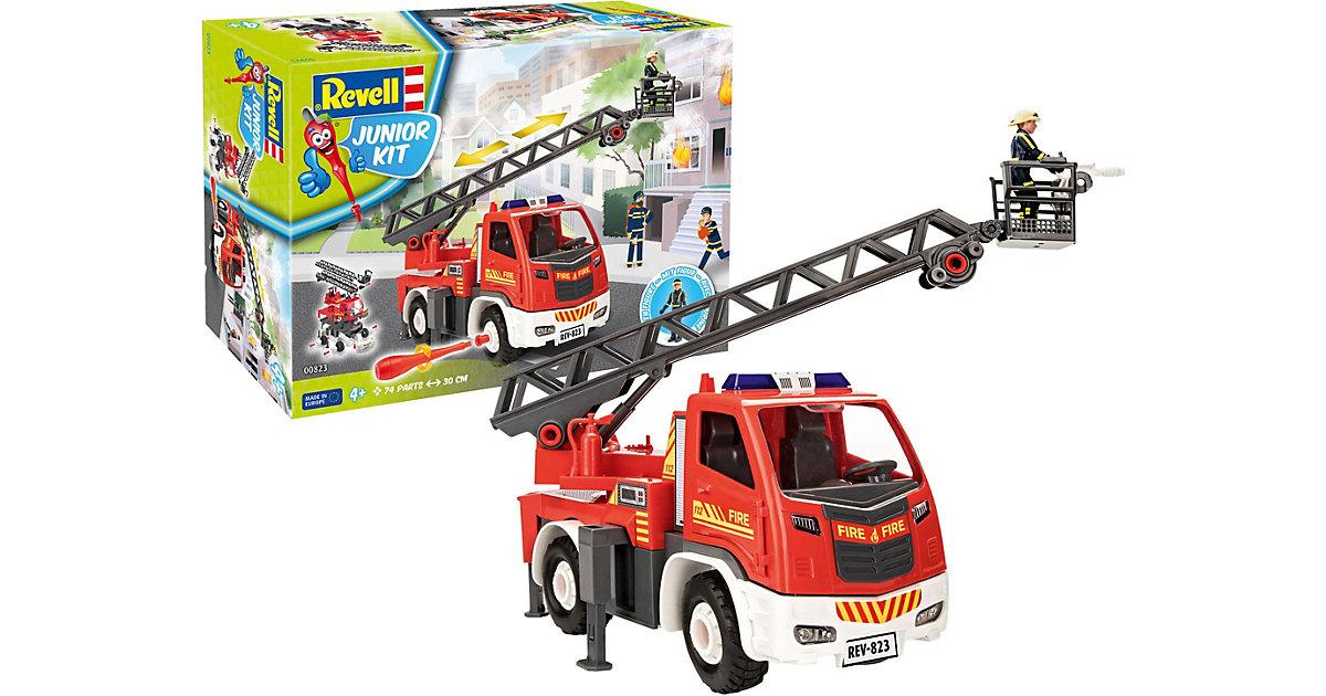 Junior Kit Feuerwehr Leiterwagen+ Figur