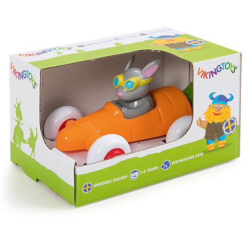 "Игрушка Viking Toys ""Машинка-морковка с зайчиком"" от Viking Toys"