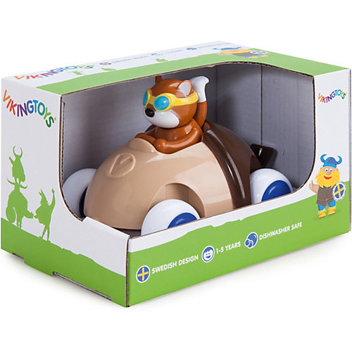 "Игрушка Viking Toys ""Машинка-желудь с белочкой"" от Viking Toys"
