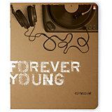 Тетрадь Альт Music Forever, 48 листов, клетка, 5 шт