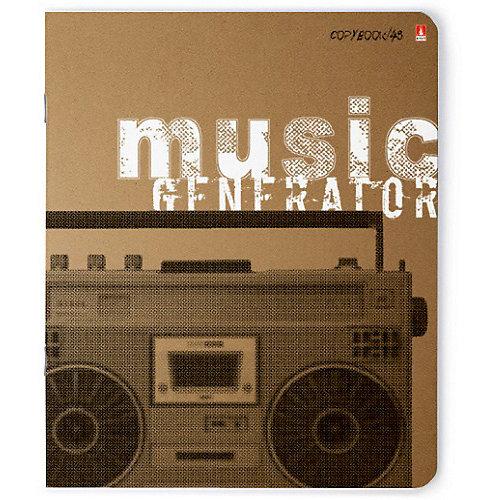 Тетрадь Альт Music Forever, 48 листов, клетка, 5 шт от Альт