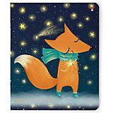 Тетрадь Альт Волшебные лисы, 48 листов, клетка, 5 шт