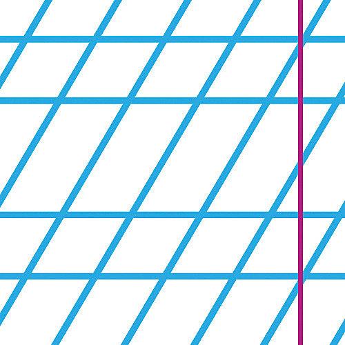 Тетрадь Альт One color-голубой, 12 листов, частая косая линейка, 10 шт от Альт