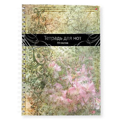 Тетрадь нотная Альт, 50 листов, клетка от Альт