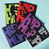 Тетрадь Альт Hip-Hop, 48 листов, клетка, 5 шт