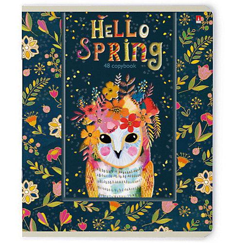 Тетрадь Альт Hello Spring, 48 листов, клетка, 5 шт от Альт