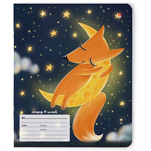 Тетрадь Альт Волшебные лисы, 18 листов, линейка, 10 шт от Альт