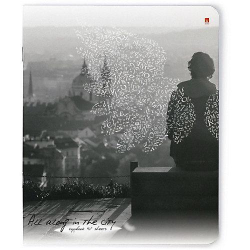 Тетрадь Альт Город ангелов, 48 листов, клетка, 5 шт от Альт
