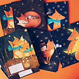 Тетрадь Альт Волшебные лисы, 18 листов, клетка, 10 шт