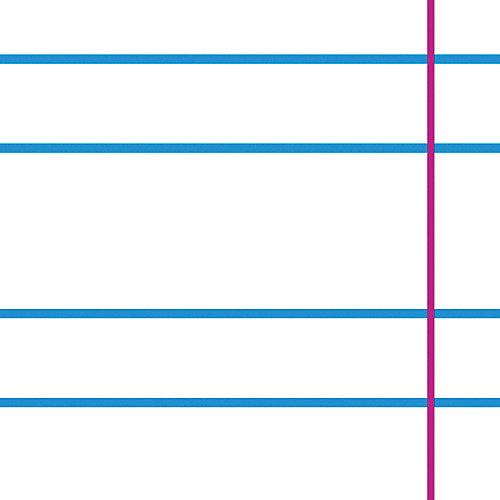 Тетрадь Альт One color-голубой, 12 листов, узкая линейка, 10 шт от Альт